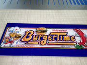 Burger Time - Marquee- Blemishville