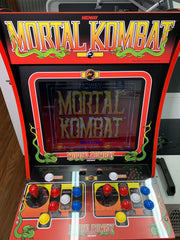 Mortal Kombat 1 Arcade 1up marquee
