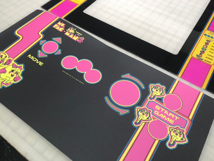 Ms. Pacman- Full Art Set (black edition)