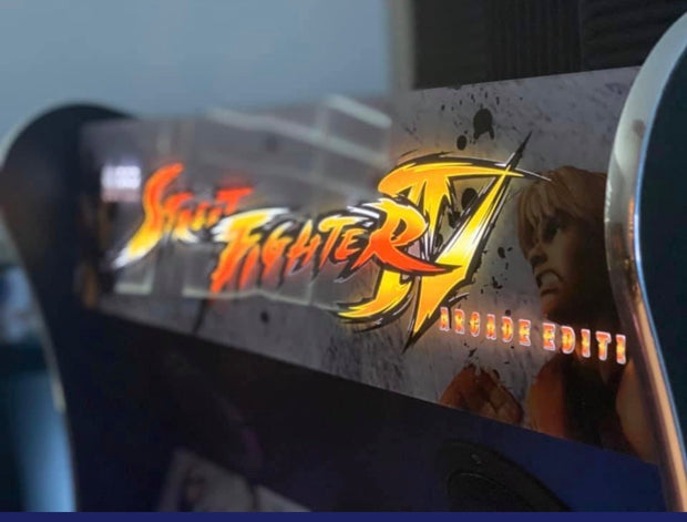 Legends Ultimate Street Fighter 4 Marquee