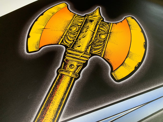 Golden Axe  Side Art