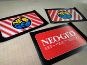 Arcade 1up Neo Geo riser art