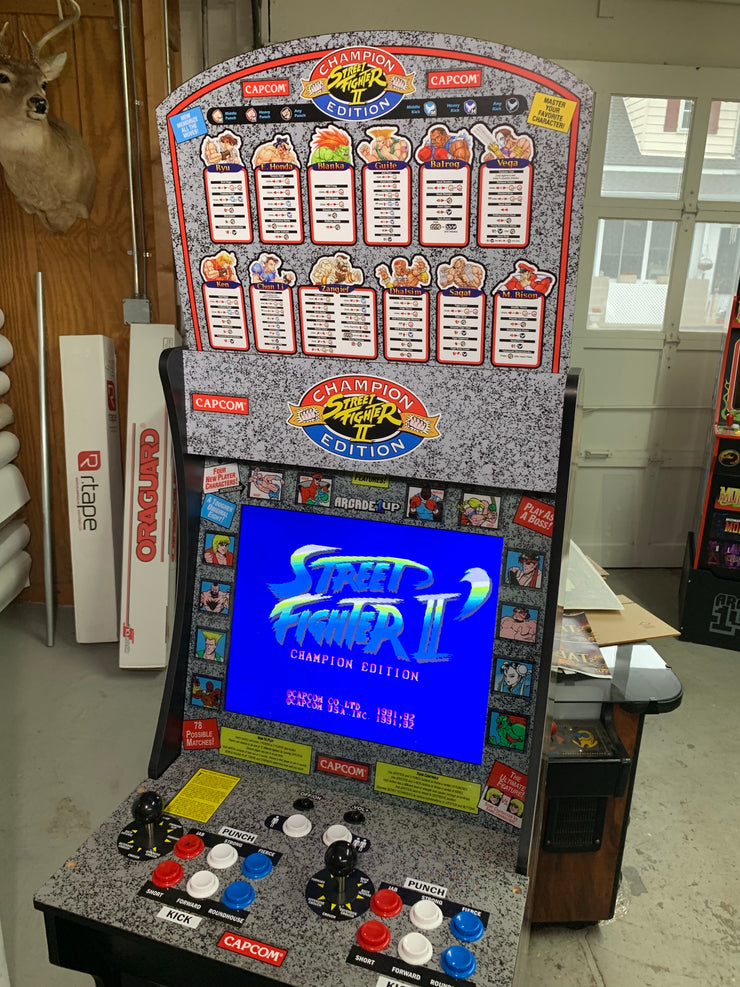 Street Fighter 2 arcade 1Up topper