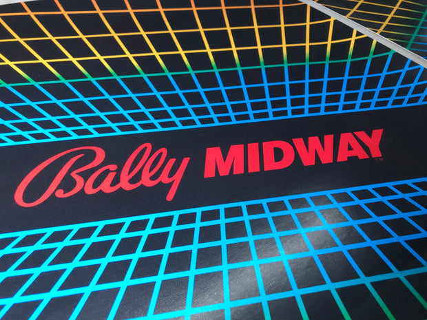 Bally Midway Side Art