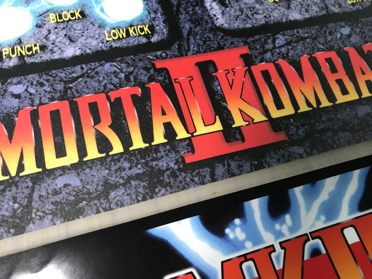 Mortal Kombat II side art