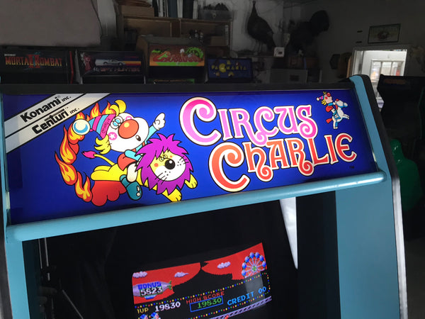 Circus Charlie full art set