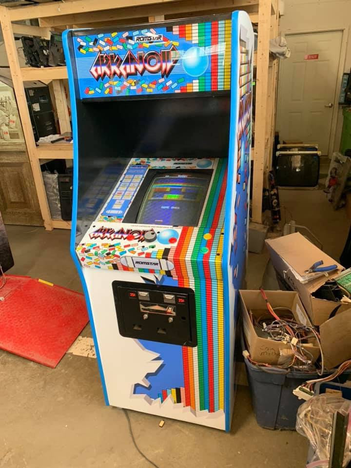 Arkanoid custom- CPO, Bezel and Marquee
