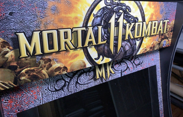 Arcade 1up Mortal Kombat 11 marquee