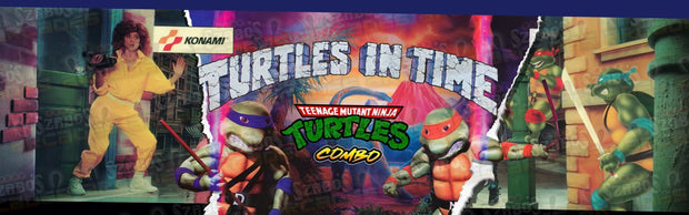 Turtle/ Turtles in Time combo Marquee