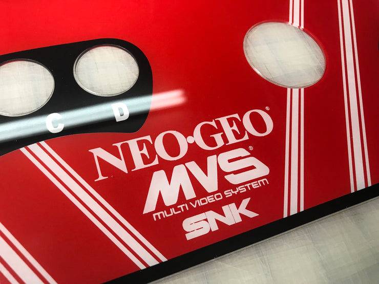 NEO GEO CPO fits MVS-2 and MVS-4- No  LED Window