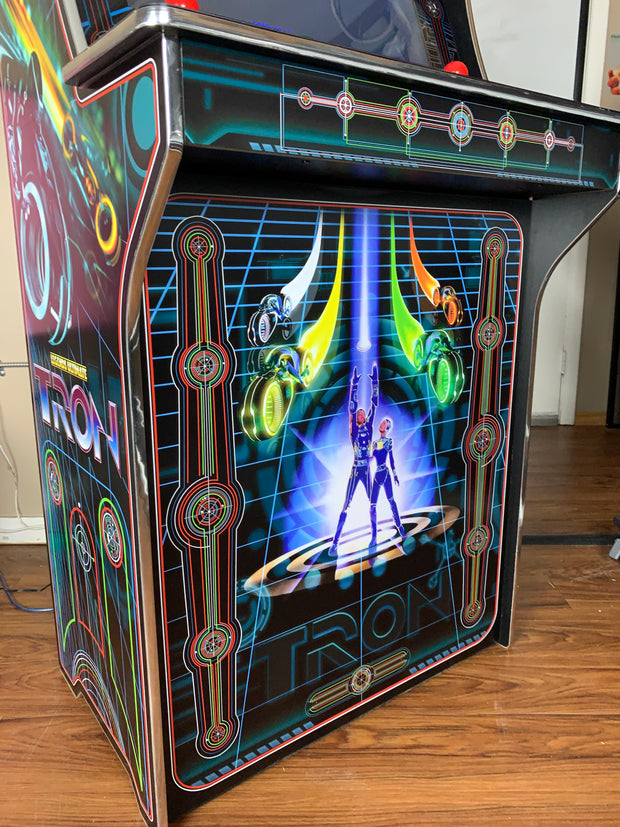 Legends Ultimate Tron sides and front art