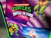 Teenage Mutant Ninja Turtles Arcade 1up front