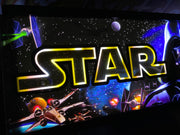 Arcade 1up Star Wars marquee