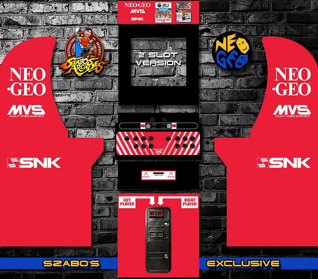 Arcade 1up Neo Geo kit
