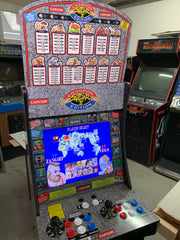 Street fighter 2 champion edition 1up marquee and topper