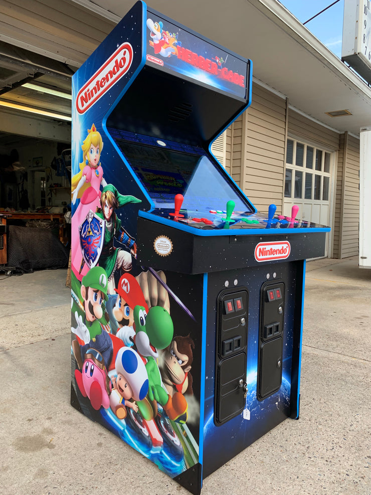 Nintendo  themed multicade custom art