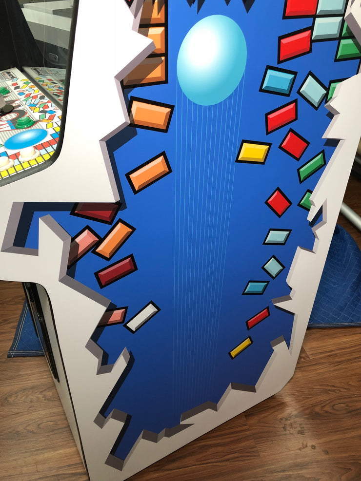 Arkanoid custom side art