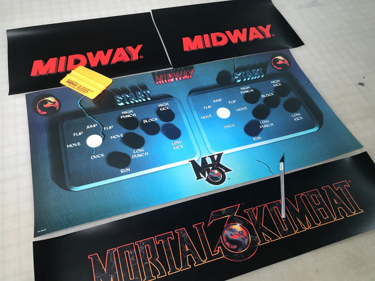 Mortal Kombat 3 Full art kit