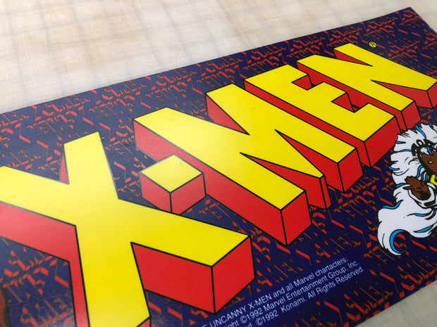 Xmen 4 player Konami Marquee