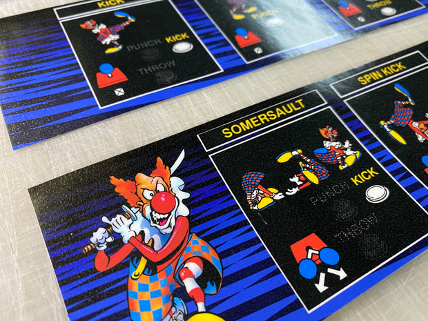 Ninja Clowns Full Art Kit