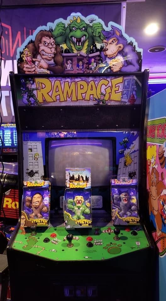 Rampage Marquee and Topper- Full Size Cabinet
