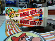 Super Mario brothers custom marquee