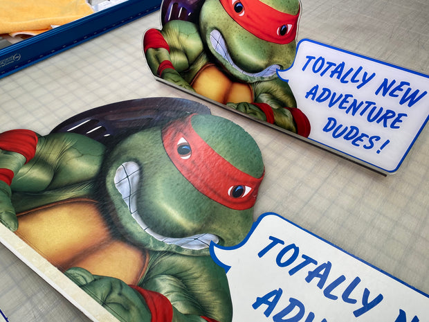 Arcade 1up Turtles in Time original topper