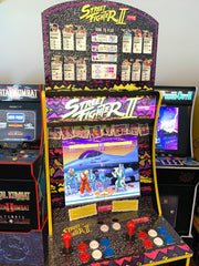 Arcade 1up Street Fighter 2 World Warrior topper