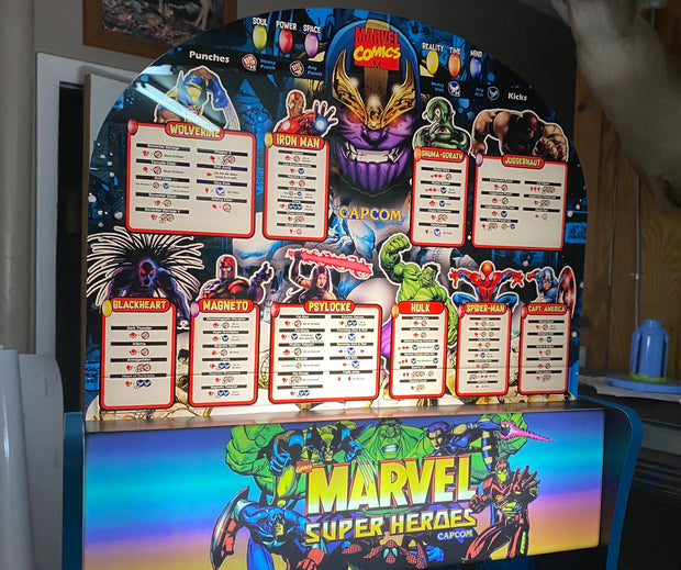 Arcade 1up Marvel Super Heroes topper