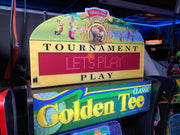 Arcade 1up Golden Tee topper
