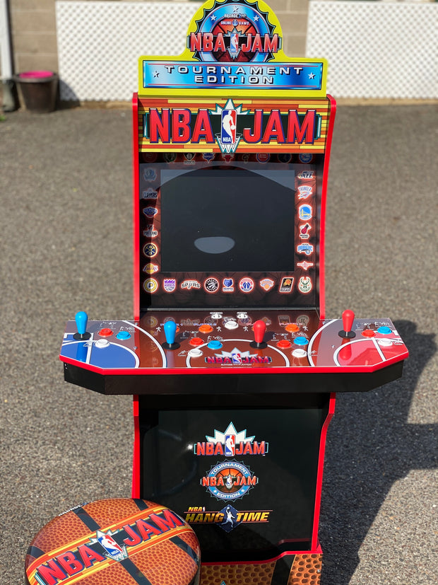 Arcade 1up NBA Jam bezel
