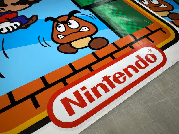 Super Mario Brothers Custom Side Art