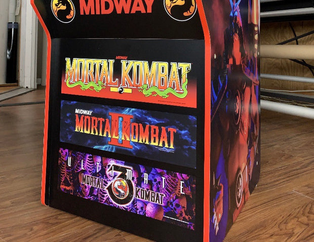 Mortal Kombat I, II & III combo for Arcade 1up- kick plate only