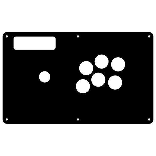 Fight Stick- Madcatz TE BEZELED - NOIR 1L6B