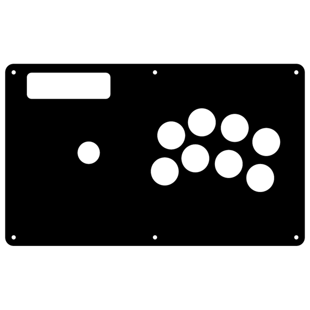 Fight Stick- Madcatz TE BEZELED - NOIR 1L8B