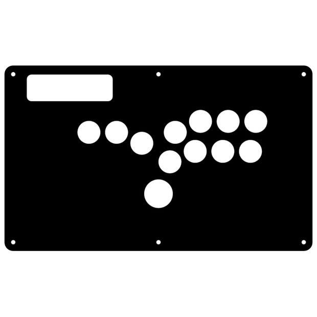 Fight Stick-Madcatz TE BEZELED - HITBOX