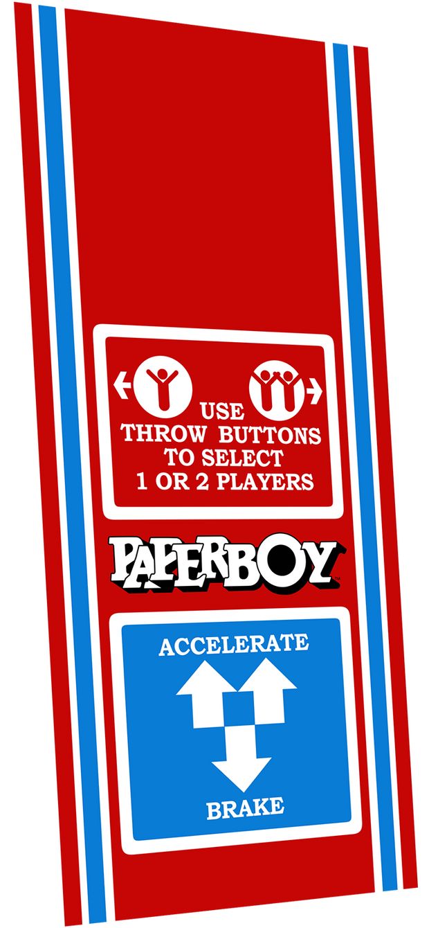 Paper Boy Control decal