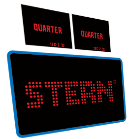 Stern Coin Door inserts  & front decal