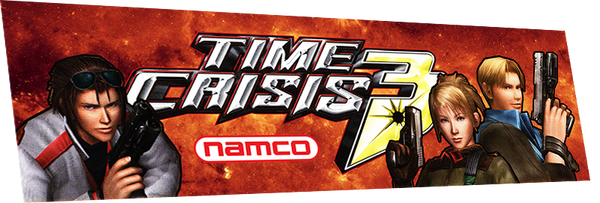 Time Crisis 3 (custom marquee)