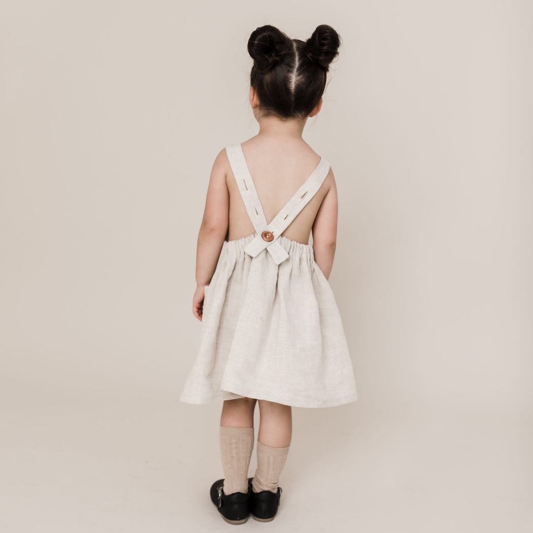 Willow Pinafore in Chai