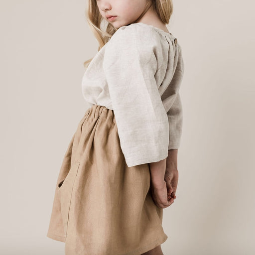 Joni Blouse in Chai