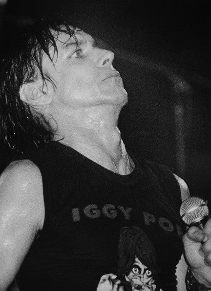 Iggy Pop photo iggy pop photograph iggy pop 1978 iggy pop concert photo
