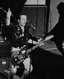 The Clash, Toronto, 1978, 16X20 black and white print.
