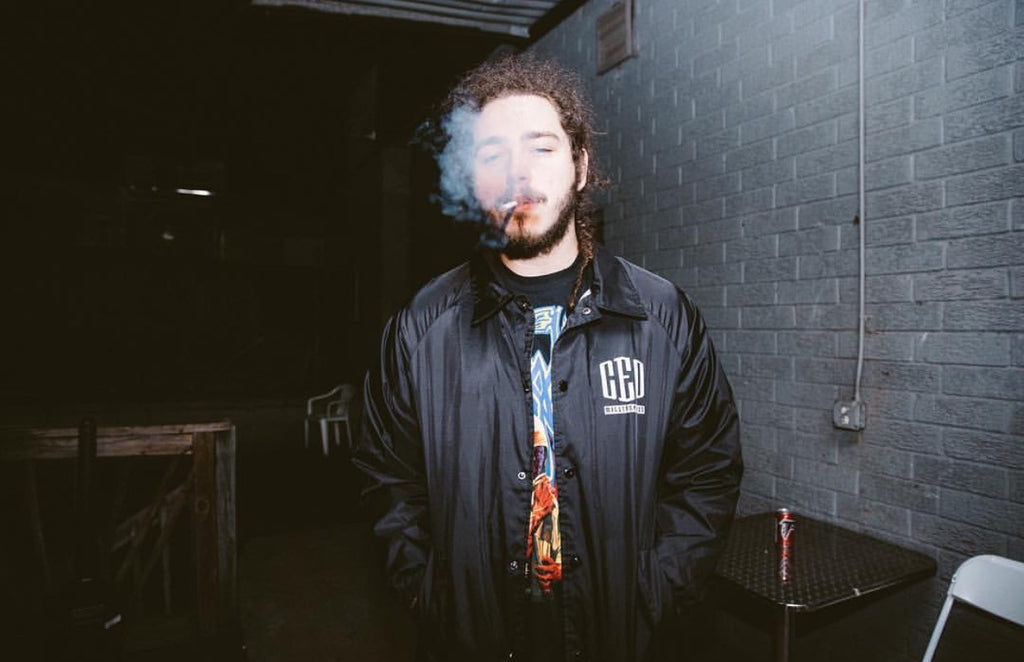 Post Malone Rocks unreleased #CEOMillionaires Jacket