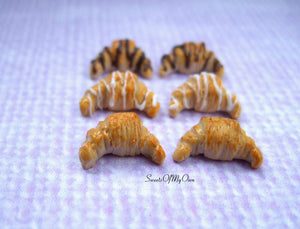 French Croissant - Stud Earrings - MTO