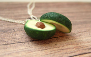 Avocado BFF Charms - Set of 2 Halves