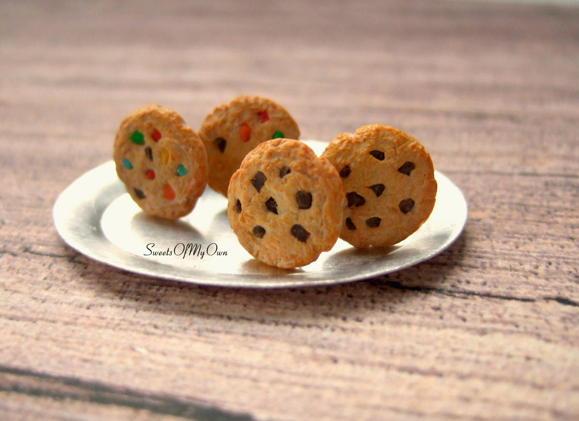 Cookie Stud Earrings - Choose Your Style - MTO