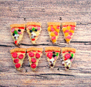 Pizza Stud Earrings - SweetsOfMyOwn