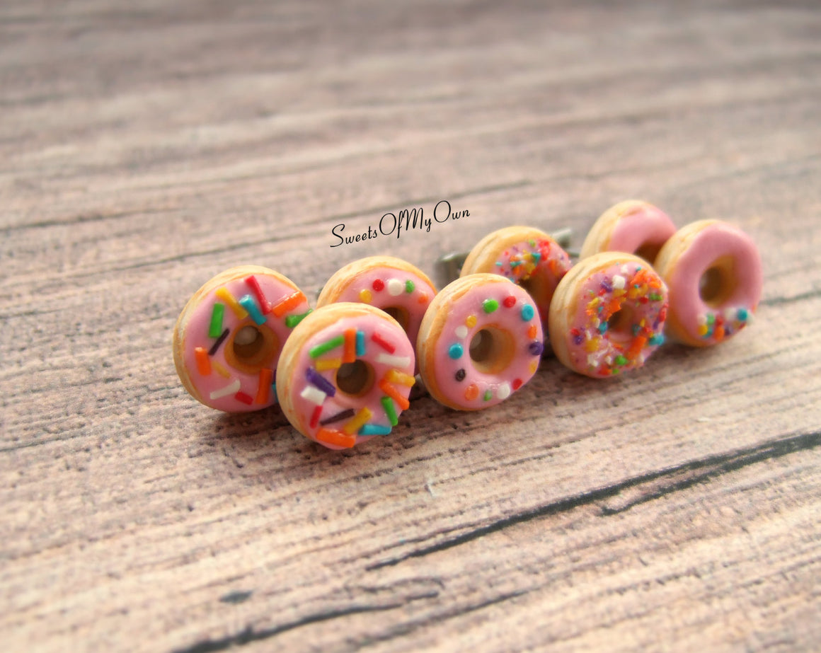 Doughnuts Stud Earrings - SweetsOfMyOwn