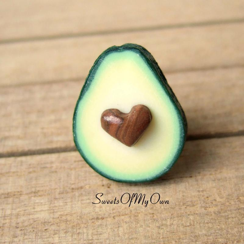 Avocado (Heart Seed) - Pin